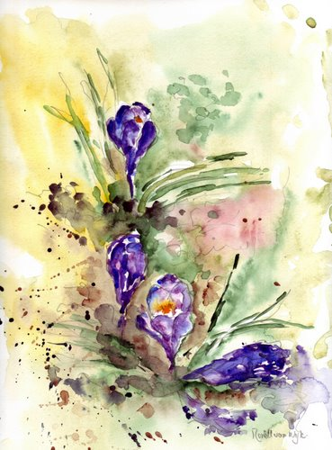 crocuswatercolour