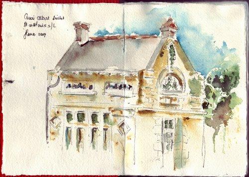 old chapel quai albert baillet Đặc điểm của màu nước trong kiến trúc và nội thất
