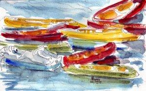 hawaii canoes