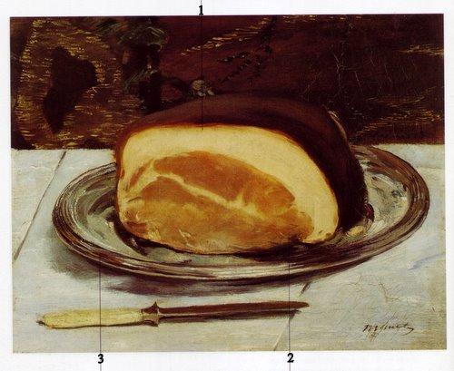 le jambon - eduard manet