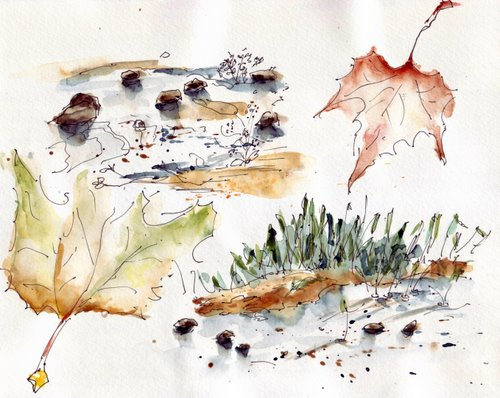 Loire sketches 2 Oct