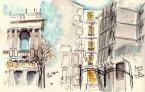 paris-rue des archives  et st. sulpice