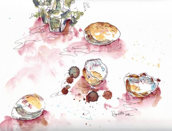 eggs in watercolour 3