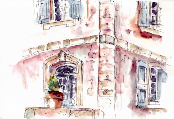 Provence sketch 1