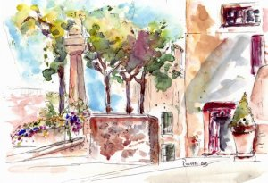 Provence sketch 3