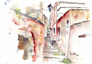 Provence sketch 5