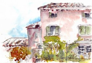 Provence sketch 6