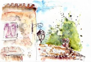 Provence sketch 7