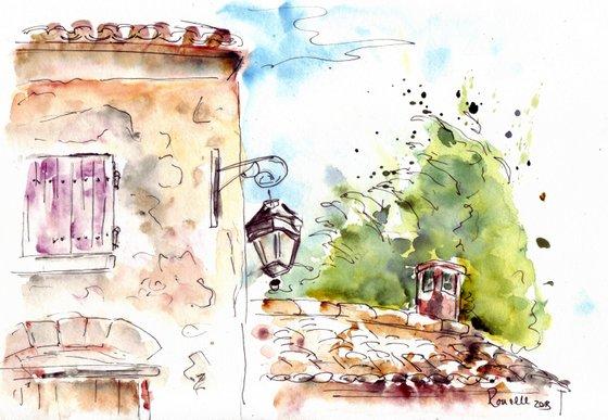 Provence sketch 7