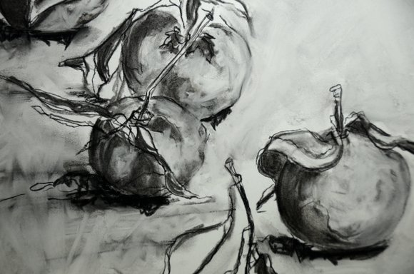 Clementines in charcoal 4928x3264