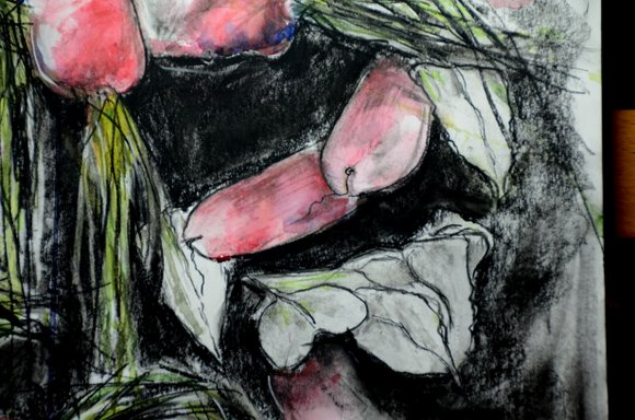 Radishes in watercolor and charcoal 4928x3264-001