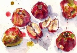 apples en aqua