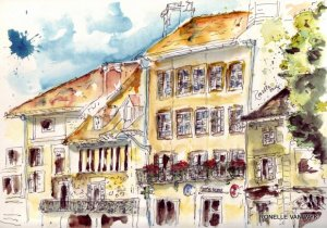 aquarelle - centre ville beaulieu 6018x4216 6018x4216