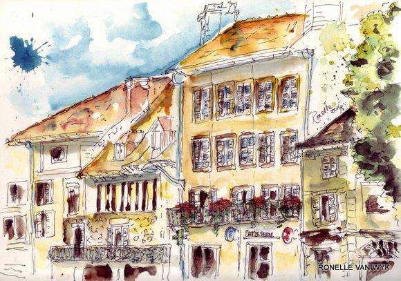 aquarelle - centre ville beaulieu 6018x4216 6018x4216