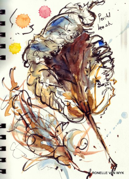 sketches-autumn leaves-001