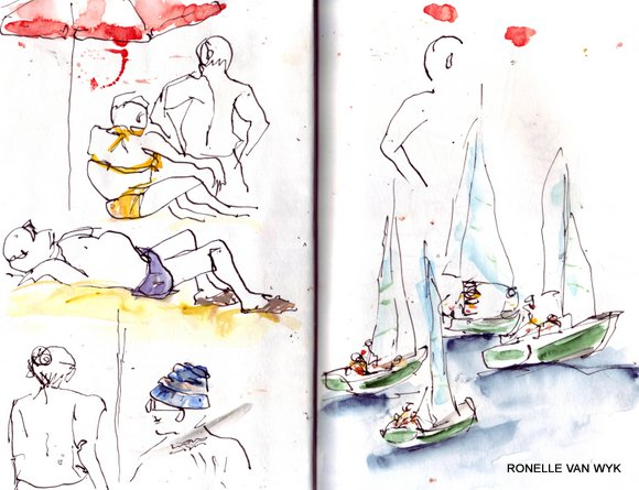 spain sketches 12
