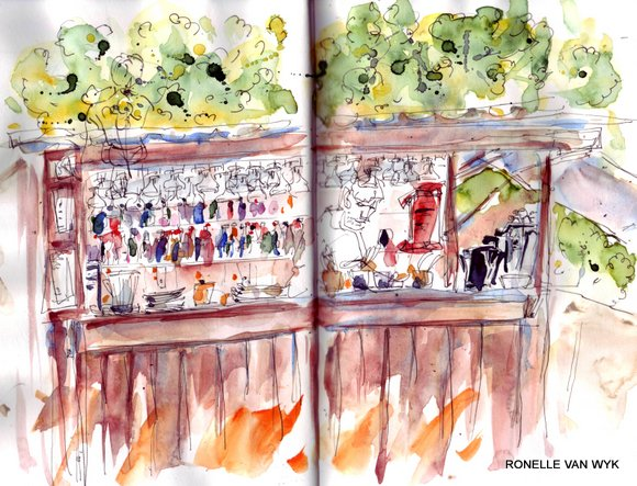 spain sketches 15