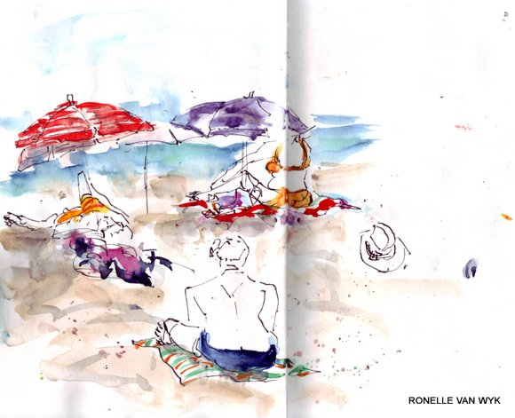 spain sketches 5