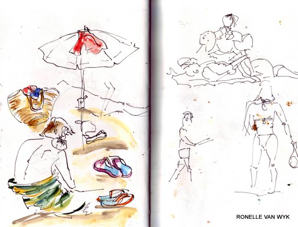 spain sketches 8