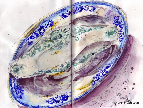 old french plates