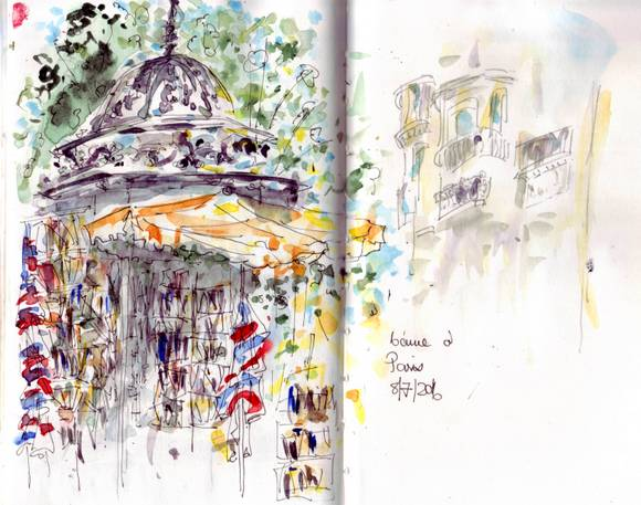 Parissketches 2016