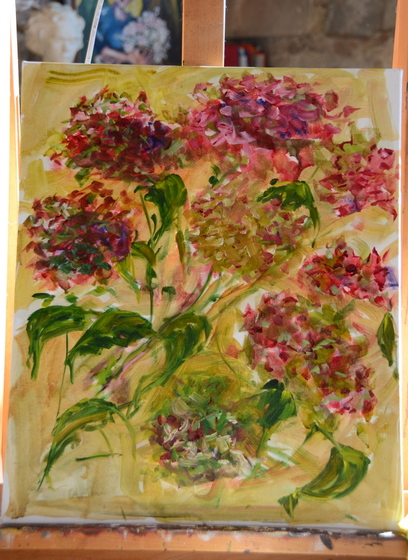 hydrangeas-in-oil
