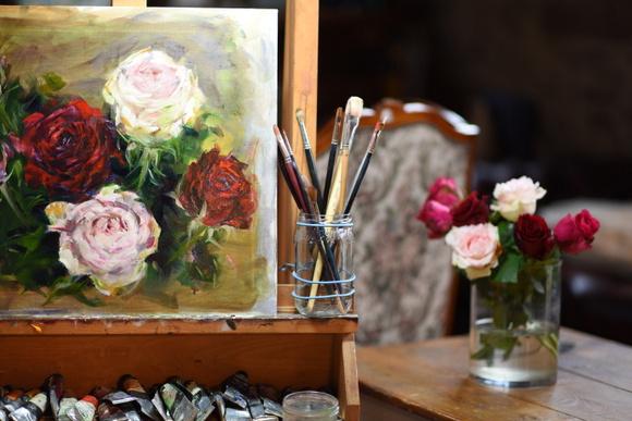 six-roses-in-oil-001