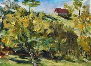 landscape plein air 4-4403